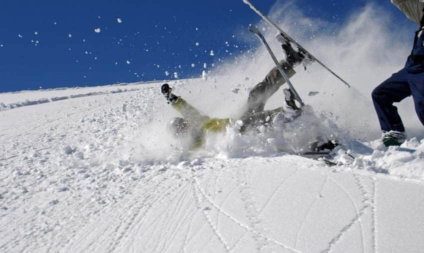 behandelmogelijkheden na ski-ongeluk