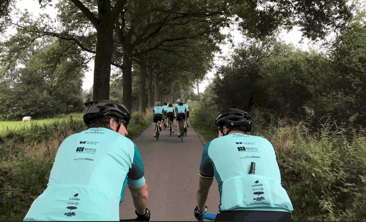 fietstocht KWF